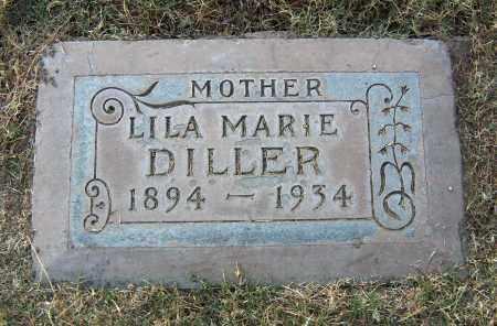 DILLER, LILA MARIE - Maricopa County, Arizona | LILA MARIE DILLER - Arizona Gravestone Photos