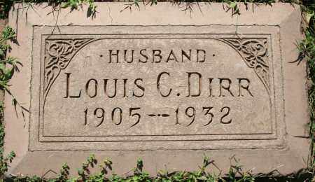 DIRR, LOUIS C - Maricopa County, Arizona | LOUIS C DIRR - Arizona Gravestone Photos