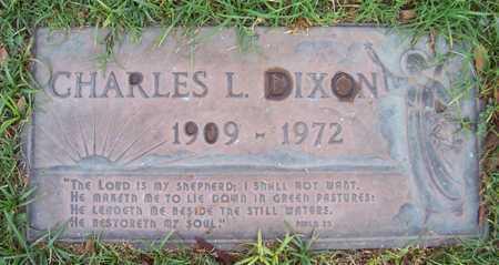 DIXON, CHARLES L. - Maricopa County, Arizona   CHARLES L. DIXON - Arizona Gravestone Photos