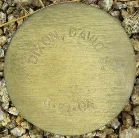 DIXON, DAVID G. - Maricopa County, Arizona | DAVID G. DIXON - Arizona Gravestone Photos