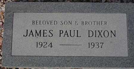 DIXON, JAMES PAUL - Maricopa County, Arizona | JAMES PAUL DIXON - Arizona Gravestone Photos