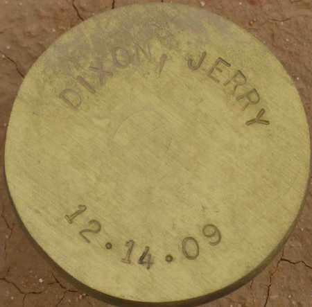 DIXON, JERRY - Maricopa County, Arizona | JERRY DIXON - Arizona Gravestone Photos