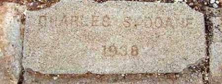 DOANE, CHARLES S. - Maricopa County, Arizona | CHARLES S. DOANE - Arizona Gravestone Photos