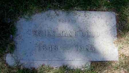 DODD, EMILY JANE - Maricopa County, Arizona | EMILY JANE DODD - Arizona Gravestone Photos