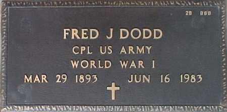 DODD, FRED J. - Maricopa County, Arizona | FRED J. DODD - Arizona Gravestone Photos