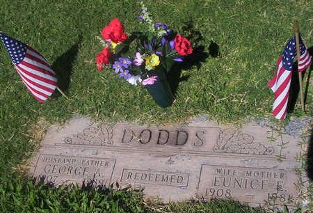COLLARD DODDS, EUNICE - Maricopa County, Arizona | EUNICE COLLARD DODDS - Arizona Gravestone Photos
