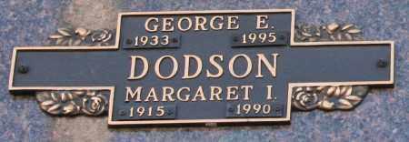DODSON, GEORGE E - Maricopa County, Arizona | GEORGE E DODSON - Arizona Gravestone Photos
