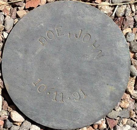 DOE, JOHN - Maricopa County, Arizona | JOHN DOE - Arizona Gravestone Photos