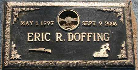 DOFFING, ERIC R. - Maricopa County, Arizona | ERIC R. DOFFING - Arizona Gravestone Photos