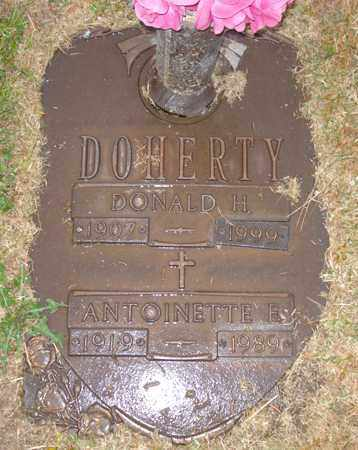DOHERTY, ANTOINETTE E. - Maricopa County, Arizona | ANTOINETTE E. DOHERTY - Arizona Gravestone Photos