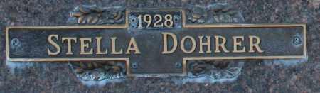 DOHRER, STELLA - Maricopa County, Arizona | STELLA DOHRER - Arizona Gravestone Photos