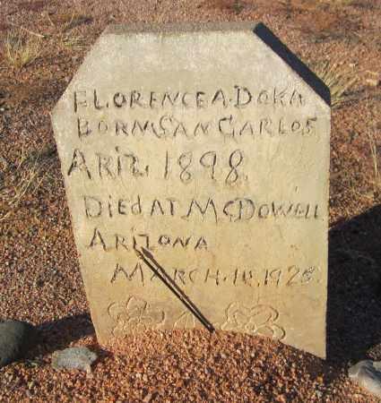DOKA, FLORENCE A. - Maricopa County, Arizona   FLORENCE A. DOKA - Arizona Gravestone Photos
