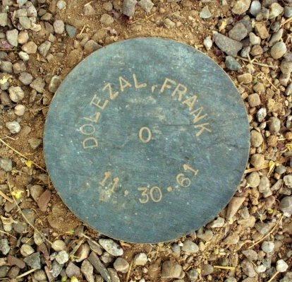 DOLEZAL, FRANK - Maricopa County, Arizona | FRANK DOLEZAL - Arizona Gravestone Photos