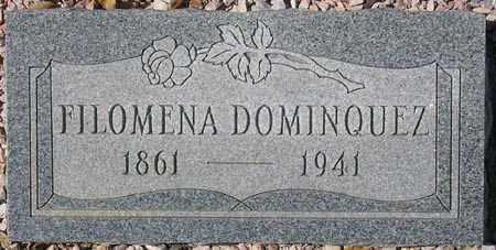 DOMINGUEZ, FILOMENA - Maricopa County, Arizona | FILOMENA DOMINGUEZ - Arizona Gravestone Photos