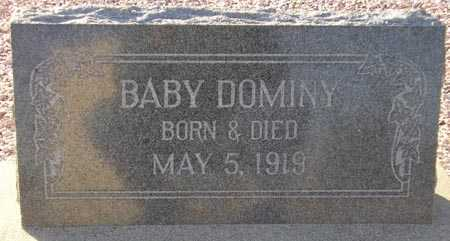 DOMINY, BABY - Maricopa County, Arizona | BABY DOMINY - Arizona Gravestone Photos