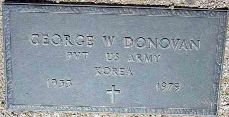 DONOVAN, GEORGE W. - Maricopa County, Arizona | GEORGE W. DONOVAN - Arizona Gravestone Photos