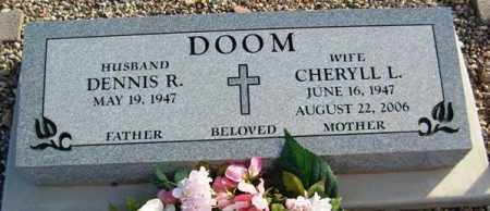 DOOM, CHERYLL - Maricopa County, Arizona | CHERYLL DOOM - Arizona Gravestone Photos