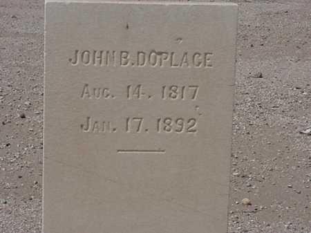 DOPLACE, JOHN B - Maricopa County, Arizona   JOHN B DOPLACE - Arizona Gravestone Photos