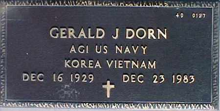 DORN, GERALD J. - Maricopa County, Arizona   GERALD J. DORN - Arizona Gravestone Photos
