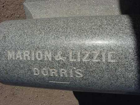 DORRIS, ELIZABETH/ LIZZIE - Maricopa County, Arizona | ELIZABETH/ LIZZIE DORRIS - Arizona Gravestone Photos