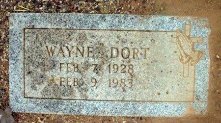 DORT, WAYNE - Maricopa County, Arizona | WAYNE DORT - Arizona Gravestone Photos