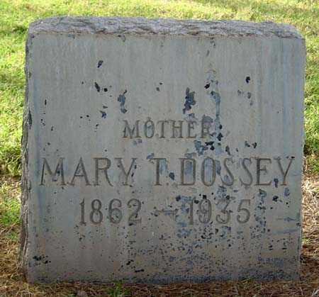 DOSSEY, MARY - Maricopa County, Arizona | MARY DOSSEY - Arizona Gravestone Photos