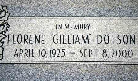 DOTSON, FLORENE - Maricopa County, Arizona | FLORENE DOTSON - Arizona Gravestone Photos