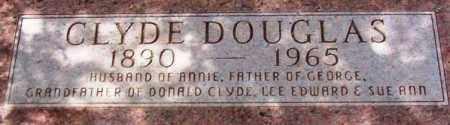 DOUGLAS, CLYDE - Maricopa County, Arizona | CLYDE DOUGLAS - Arizona Gravestone Photos
