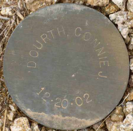 DOURTH, CONNIE J. - Maricopa County, Arizona   CONNIE J. DOURTH - Arizona Gravestone Photos
