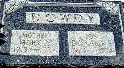 DOWDY, DONALD F. - Maricopa County, Arizona | DONALD F. DOWDY - Arizona Gravestone Photos