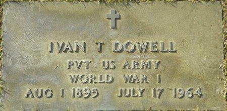 DOWELL, IVAN T - Maricopa County, Arizona | IVAN T DOWELL - Arizona Gravestone Photos