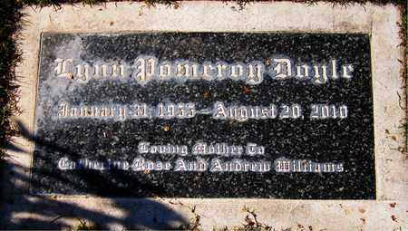 DOYLE, LYNN POMEROY - Maricopa County, Arizona | LYNN POMEROY DOYLE - Arizona Gravestone Photos