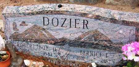 DOZIER, ROBERT (BOB) D. - Maricopa County, Arizona | ROBERT (BOB) D. DOZIER - Arizona Gravestone Photos