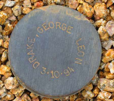DRAKE, GEORGE LEON - Maricopa County, Arizona | GEORGE LEON DRAKE - Arizona Gravestone Photos