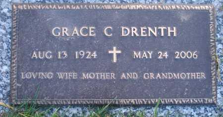DRENTH, GRACE C - Maricopa County, Arizona | GRACE C DRENTH - Arizona Gravestone Photos