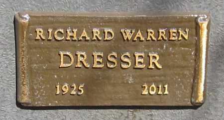 DRESSER, RICHARD WARREN - Maricopa County, Arizona | RICHARD WARREN DRESSER - Arizona Gravestone Photos