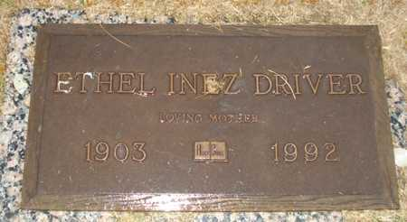 DRIVER, ETHEL INEZ - Maricopa County, Arizona | ETHEL INEZ DRIVER - Arizona Gravestone Photos