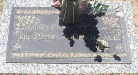 DUBIEL, M.D., DR. MARK B. - Maricopa County, Arizona | DR. MARK B. DUBIEL, M.D. - Arizona Gravestone Photos