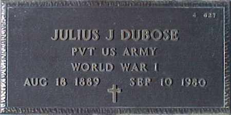 DUBOSE, JULIUS J. - Maricopa County, Arizona | JULIUS J. DUBOSE - Arizona Gravestone Photos