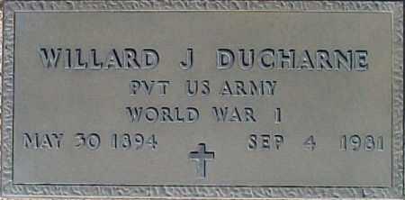 DUCHARNE, WILLARD J - Maricopa County, Arizona | WILLARD J DUCHARNE - Arizona Gravestone Photos