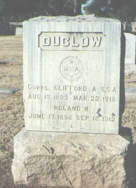 DUCLOW, ROLAND N. - Maricopa County, Arizona | ROLAND N. DUCLOW - Arizona Gravestone Photos