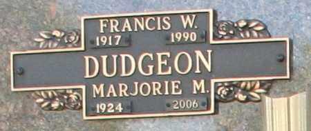 DUDGEON, MARJORIE M - Maricopa County, Arizona | MARJORIE M DUDGEON - Arizona Gravestone Photos