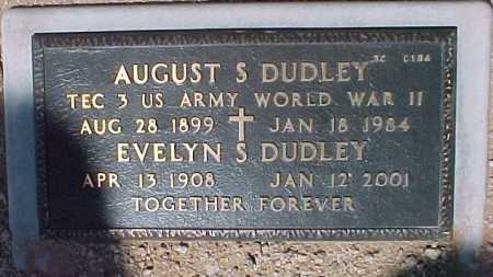 DUDLEY, EVELYN S. - Maricopa County, Arizona | EVELYN S. DUDLEY - Arizona Gravestone Photos