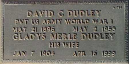 DUDLEY, GLADYS MERLE - Maricopa County, Arizona | GLADYS MERLE DUDLEY - Arizona Gravestone Photos