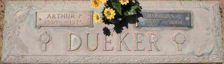 DUEKER, ARTHUR P. - Maricopa County, Arizona | ARTHUR P. DUEKER - Arizona Gravestone Photos