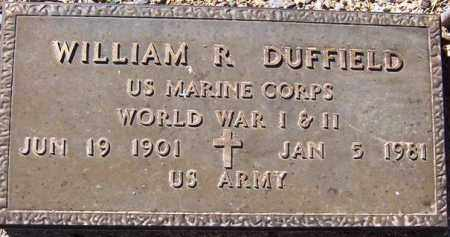DUFFIELD, WILLIAM R. - Maricopa County, Arizona | WILLIAM R. DUFFIELD - Arizona Gravestone Photos