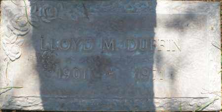 DUFFIN, LLOYD M. - Maricopa County, Arizona | LLOYD M. DUFFIN - Arizona Gravestone Photos