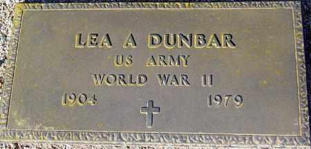 DUNBAR, LEA A. - Maricopa County, Arizona | LEA A. DUNBAR - Arizona Gravestone Photos