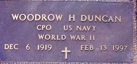 DUNCAN, WOODROW H. - Maricopa County, Arizona | WOODROW H. DUNCAN - Arizona Gravestone Photos