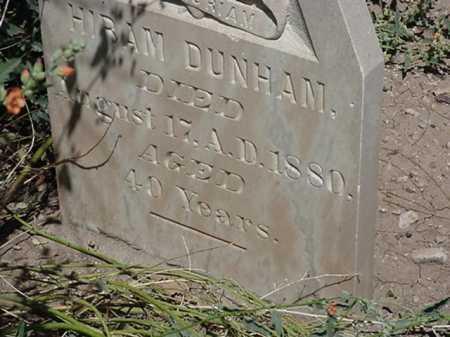 DUNHAM, HIRAM - Maricopa County, Arizona | HIRAM DUNHAM - Arizona Gravestone Photos